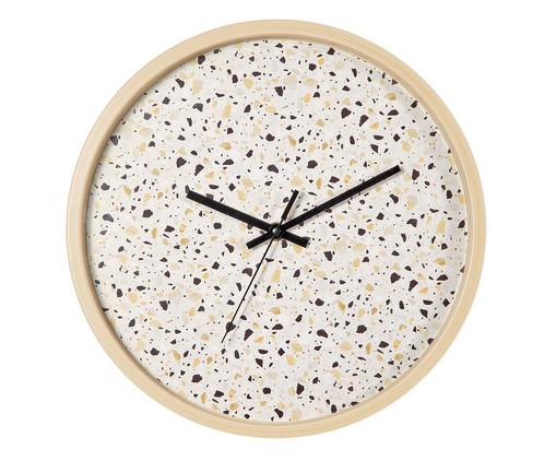 Relógio de Parede Fosco Ferda - Cru, Branco | WestwingNow