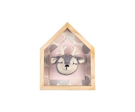 Quadro Bambi - Rosa | WestwingNow