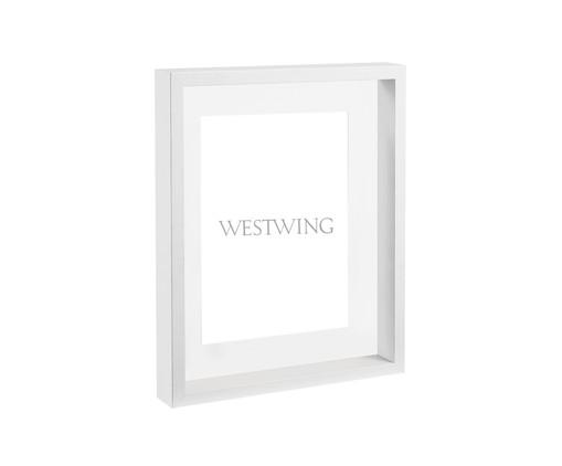 Porta-Retrato Kasey, Branco | WestwingNow