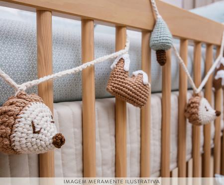 Cordão Crochê Floresta - Verde | WestwingNow