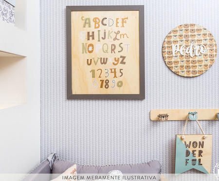 Placa Wonderful Yvonne - Verde | WestwingNow