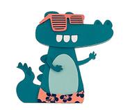 Enfeite Prateleira Crocodilo - Azul | WestwingNow
