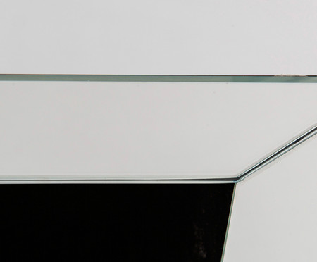Mesa de Cabeceira Miller - Prateada | WestwingNow