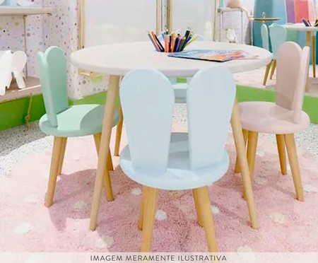 Cadeira Infantil Lina - Rosa | WestwingNow