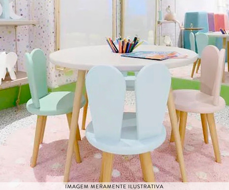 Cadeira Infantil Lina - Branco   WestwingNow