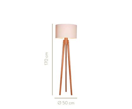 Luminária de Chão Ezio  Castanho - Bivolt | WestwingNow