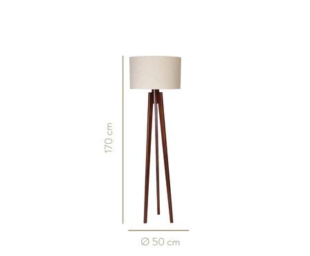 Luminária de Chão Tomásia Imbuia - Bivolt   WestwingNow