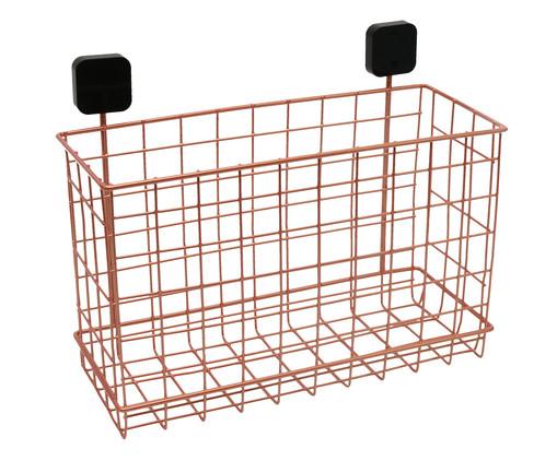 Organizador de Parede Grid - Acobreado e Preto, Cobre | WestwingNow