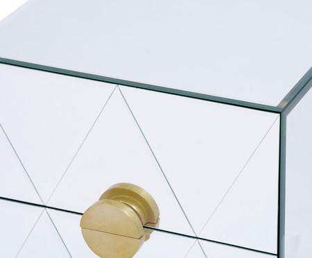 Mesa de Cabeceira Suspensa Mason - Prateada | WestwingNow