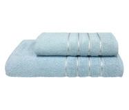 Jogo de Toalhas Monari Azul Polar 370G/M² - 02 Peças | WestwingNow