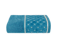 Toalha de Rosto Safira Azul Netuno - 420G/M²   WestwingNow
