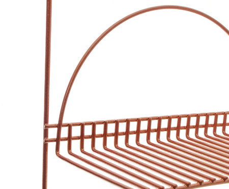 Suporte para Vasos Entry - Acobreado | WestwingNow