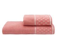 Jogo de Toalhas Safira Blush 420G/M² - 02 Peças | WestwingNow