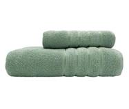 Jogo de Toalhas Monari Verde Eucalipto 370G/M² - 02 Peças | WestwingNow