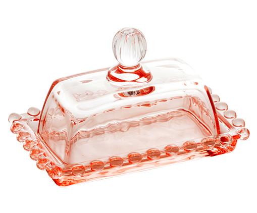 Mantegueira em Cristal Pearl - Rosa, Rosa | WestwingNow