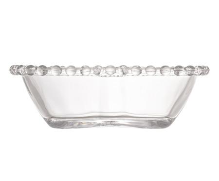 Saladeira Coração em Cristal Pearl - Transparente   WestwingNow
