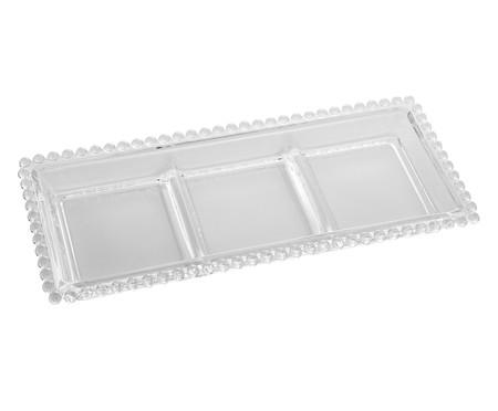 Petisqueira em Cristal Pearl - Transparente | WestwingNow