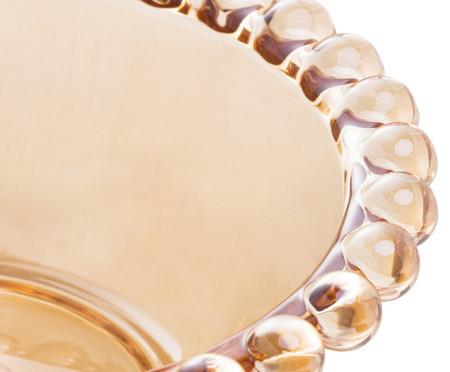 Jogo de Bowls em Cristal Pearl - Âmbar | WestwingNow