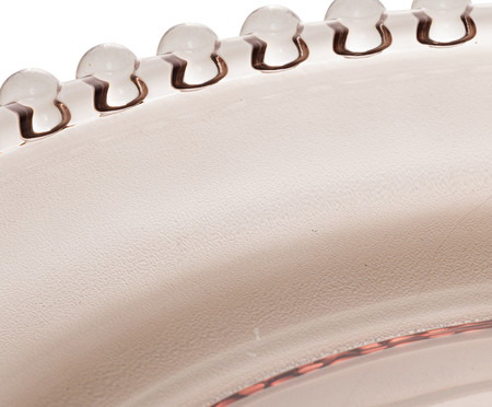 Sousplat em Cristal Pearl - Fumê | WestwingNow