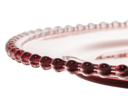 Prato Raso em Cristal Pearl - Roxo | WestwingNow
