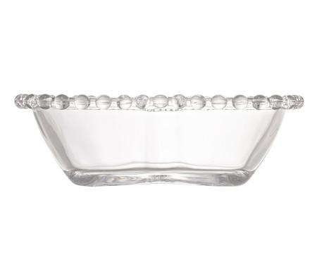 Jogo de Bowls Coração em Cristal Pearl - Transparente | WestwingNow