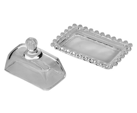 Mantegueira em Cristal Pearl - Transparente | WestwingNow