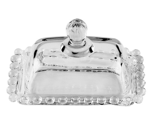 Mantegueira em Cristal Pearl - Transparente, Transparente | WestwingNow