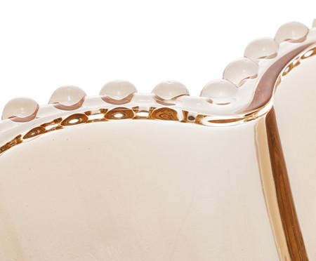 Jogo de Bowls Coração em Cristal Pearl - Âmbar | WestwingNow