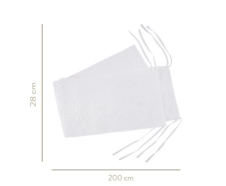 Protetor de Berço Matê - Branco | WestwingNow