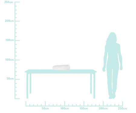 Protetor para Berço Rolinho  Matê Branco - 46 x 12 cm   WestwingNow