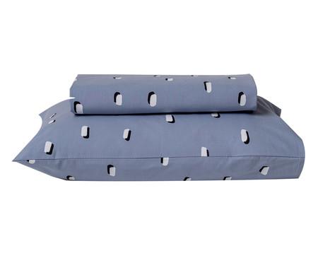 Jogo de Lençol Pontinhos Azul - 200 fios | WestwingNow