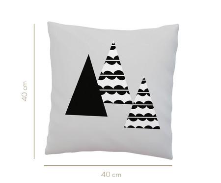 Almofada Triângulo - Preto E Branco   WestwingNow