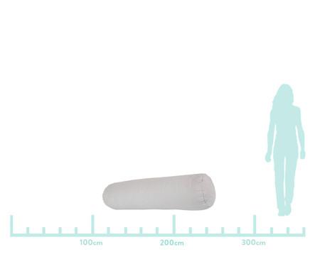 Protetor para Berço Rolinho Matê Cinza - 130 x 12 cm | WestwingNow
