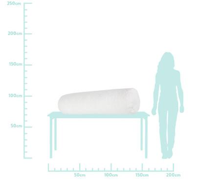 Protetor para Berço Rolinho Matê Branco - 130 x 12 cm   WestwingNow