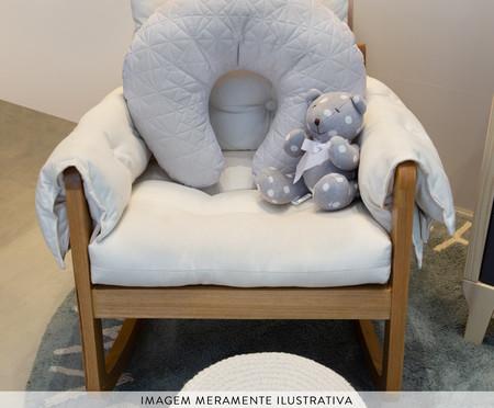 Almofada de Amamentação Matê - Azul | WestwingNow