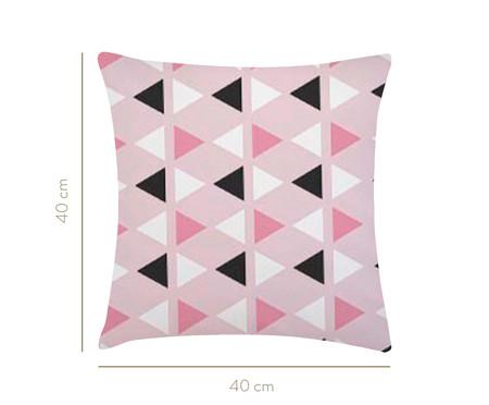 Almofada Triângulo - Rosa   WestwingNow