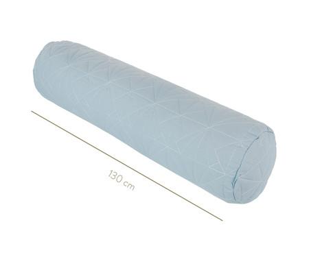 Protetor para Berço Rolinho Matê Azul - 130 x 12 cm   WestwingNow