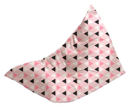 Pufe Triângulo - Rosa | WestwingNow