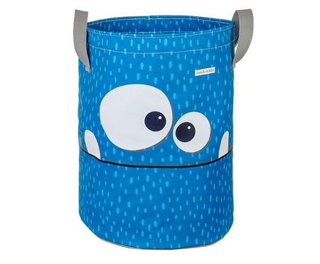 Saco de Brinquedos Grande Monstrinho Azul - Azul | WestwingNow