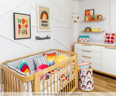 Saco de Brinquedos Grande Lesa | WestwingNow