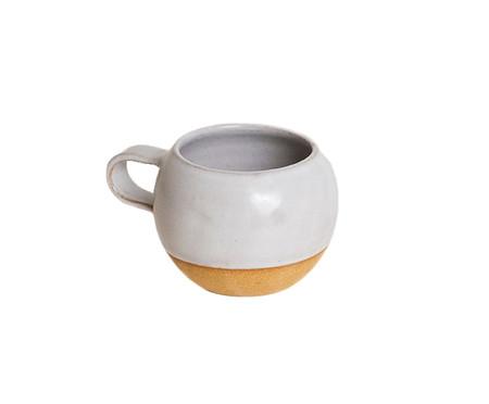 Jogo de Xícaras e Pires para Chá em Argila Bola - Branco e Rosa | WestwingNow
