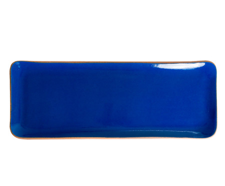 Travessa Retangular G - Azul Grego   WestwingNow