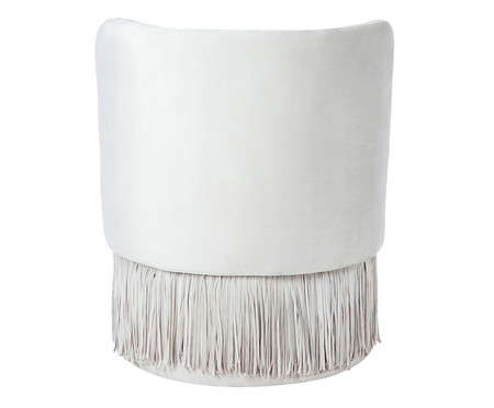 Poltrona Franja Simples -  Off White | WestwingNow