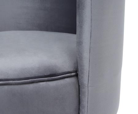 Poltrona Franja Simples - Cinza | WestwingNow