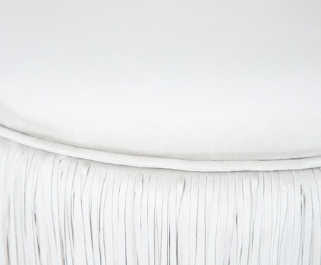 Poltrona Franja Dupla - Off White | WestwingNow
