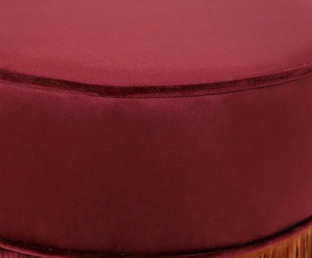 Puff Franja Composta - Vinho | WestwingNow