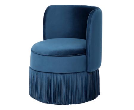 Poltrona Franja Simples - Azul | WestwingNow