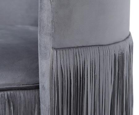 Poltrona Franja Dupla - Cinza | WestwingNow