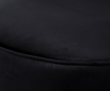 Poltrona Franja Simples - Preto | WestwingNow