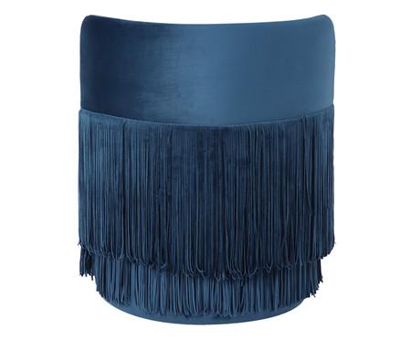 Poltrona Franja Dupla - Azul | WestwingNow